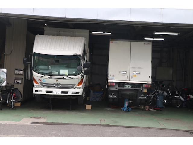 トラック等の大型車も対応しております!