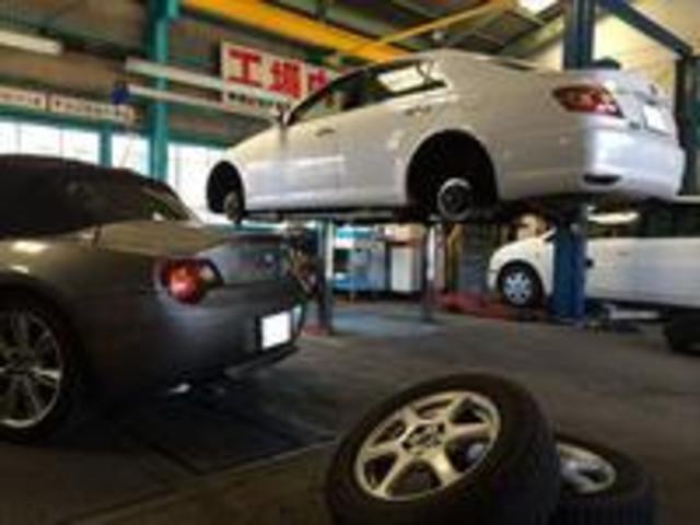 新車中古車販売・車検一般整備・鈑金塗装・各種保険お任せください!