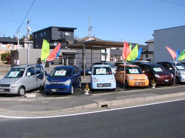 お買い得車両が常に展示されております。