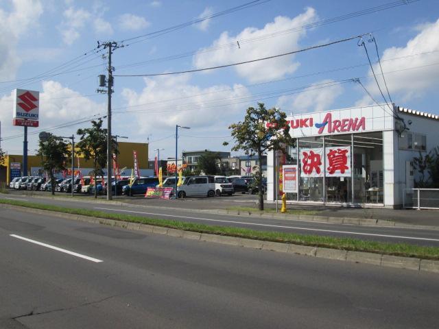 (株)スズキ自販関東スズキアリーナ百合が原の店舗画像