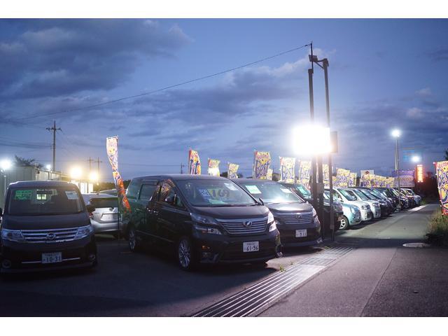 軽から人気のファミリーカーなど、常時50台以上の車でお迎えします。