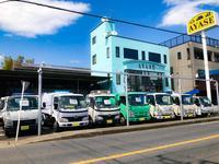 バン・トラックを中心に、商用車まで幅広く在庫!また店頭に無い車もお探し致します!
