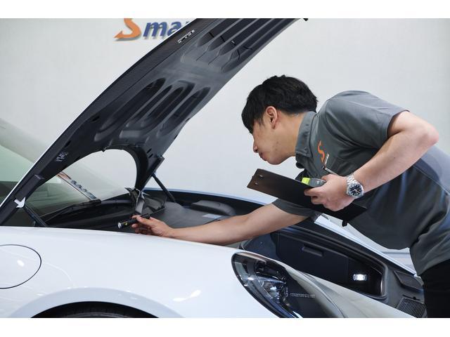 0.001mm単位で計れる超高精度膜厚計を使用し、全車両の修復歴・板金歴をチェック済です。
