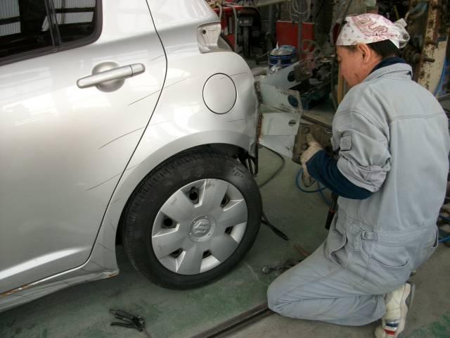事故修理ご相談下さい!リビルトパーツねど全国のネットワークでお探しいたします。