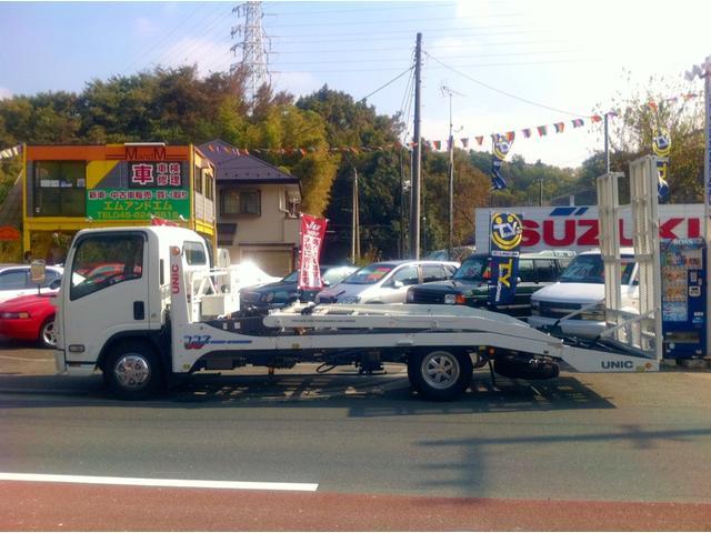 積載車も完備しております☆これでご納車・引き取りも安心です♪