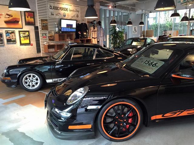 空冷ポルシェから最新モデルの中古車の販売、ポルシェの買取り、パーツ販売を行っています。