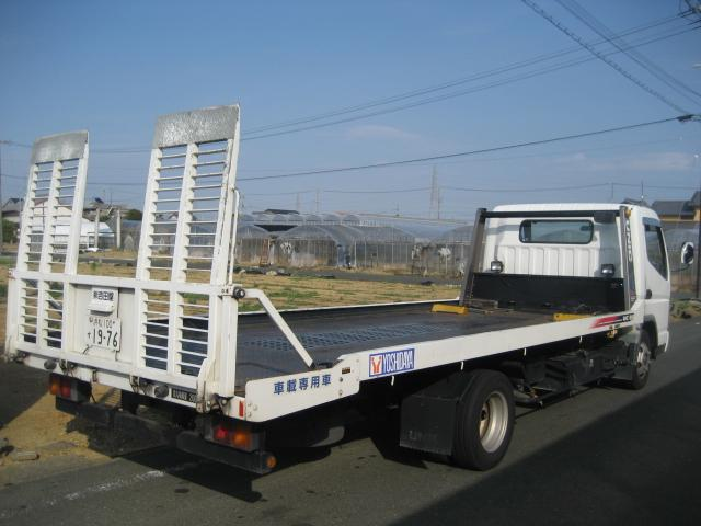 何かのトラブルがあっても安心!!レッカー車は、いつでも緊急出動できる体制となっております。