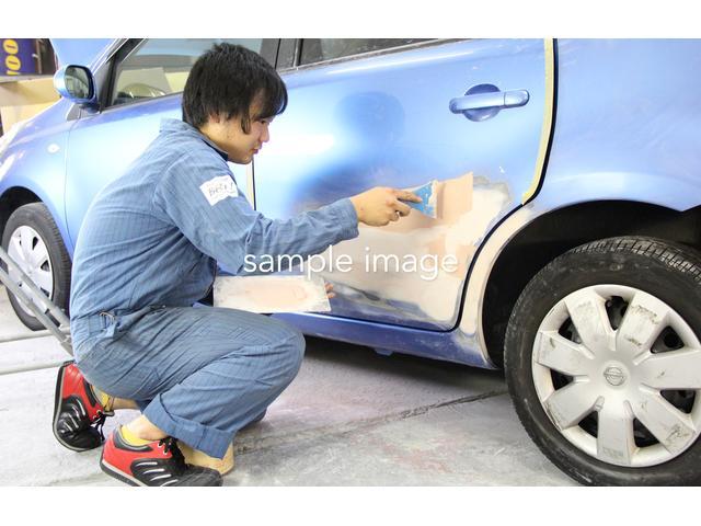 納車後のアフターもお任せ下さい♪修理からドレスアップ&板金修理まで車のトータルサポート致します♪