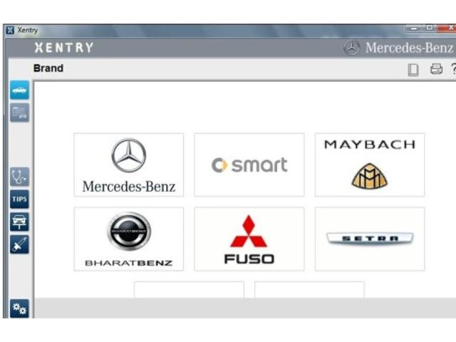 Mercedes-Benz/Smart専用診断機DAS XENTRYを導入しています。