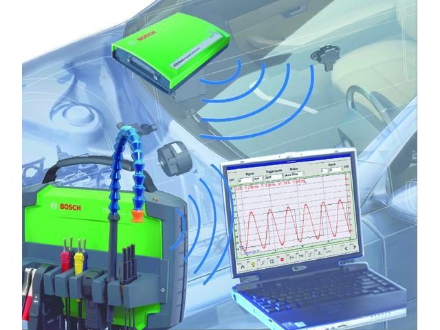 輸入車用ボッシュ診断機「KTS」を導入しています。