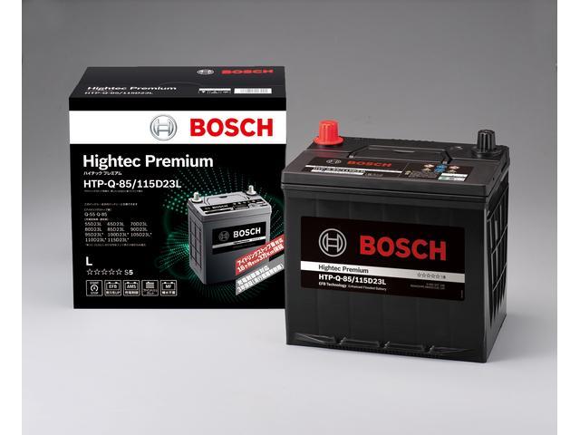 弊社では信頼性が高く安心なボッシュ製バッテリーを使用して整備いたします。
