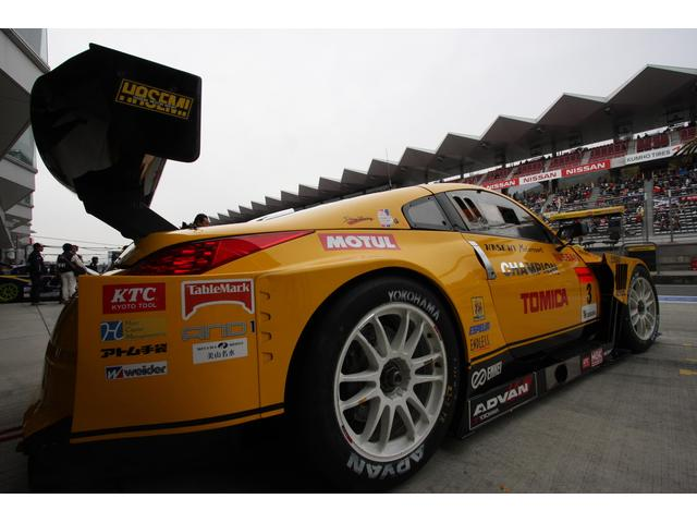 レースイベントに、スポンサーとしても登場しております。車好き、走り好きのお客様は是非とも当店に!