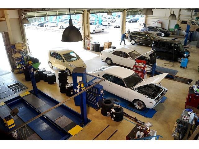 陸運局指定自社工場完備、外車・国産車問わずお任せ下さいませ。安心と安全をお届けします!