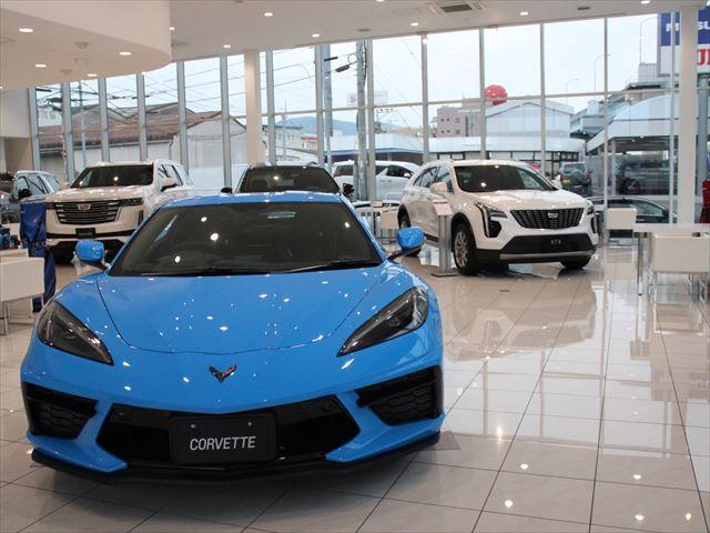 GM正規ディーラー「キャデラック/シボレー博多」はGMの新車販売を始め、中古車も取り扱います。
