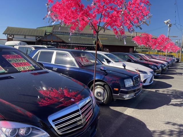 店頭在庫はもちろん注文販売も行なっておりますので店頭にないお車はご相談ください。