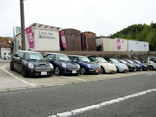 輸入車を中心に、お買い得な厳選車を仕入し、販売しております。在庫に無い場合も注文販売可能です!