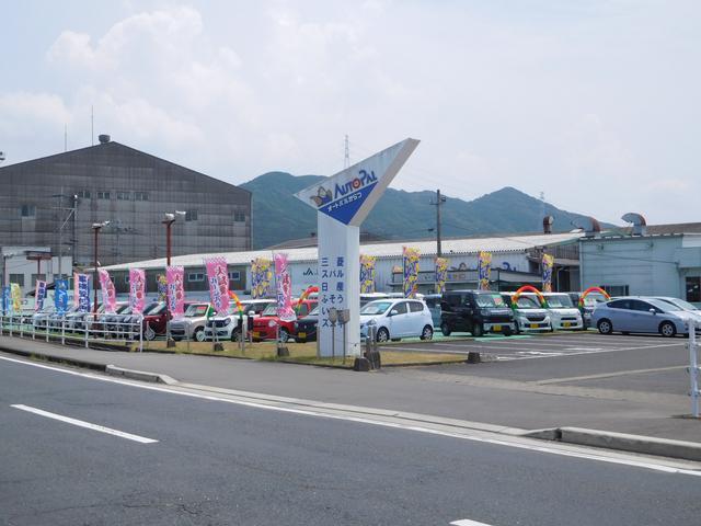 オートパルからつ店です☆駐車場も広くて止めやすいですよ!
