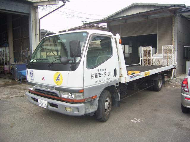 自社積載車完備で納車から引取りまでお任せ下さい。宮城県内どこでも無料で承ります。