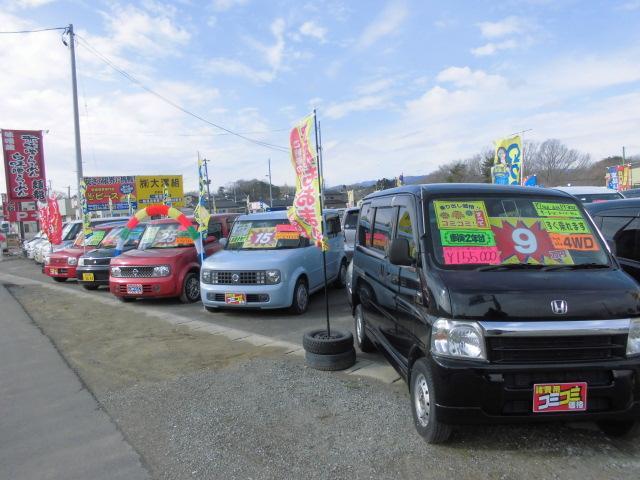 軽自動車・コンパクトカー・ミニバン・セダン等◎◎車種豊富な展示場です☆☆