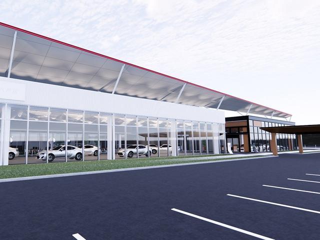 青森トヨタ自動車株式会社 八戸店の店舗画像