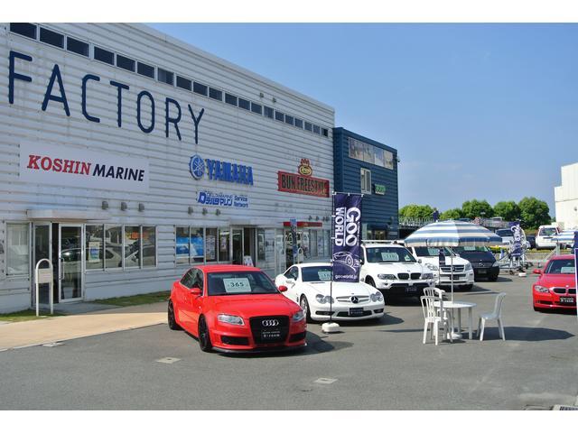 パーク内には、イタリアンレストランやカフェ、雑貨店などもございます!お車と同時にお楽しみください!