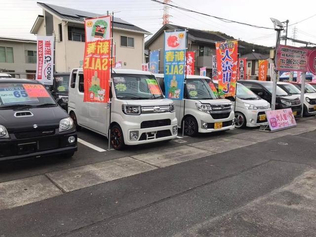 3号店は有名です!北区川入の新幹線沿いです♪お洒落で大人気の軽四多数!お電話下さればすぐに参ります!