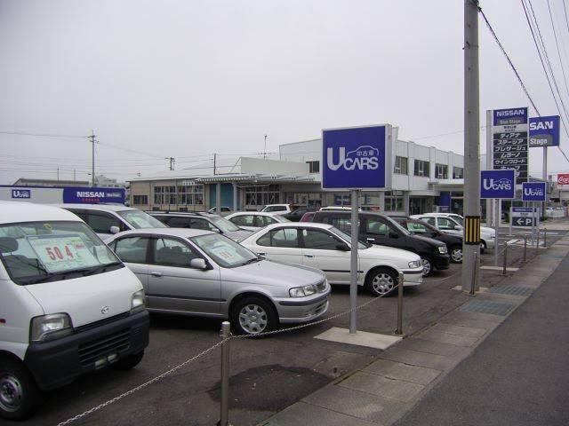 鳥取日産自動車販売(株)倉吉展示場の店舗画像