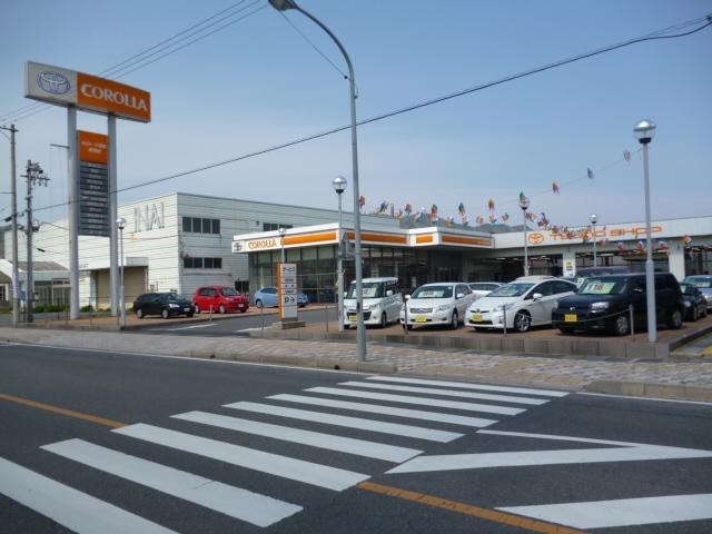 トヨタカローラ鳥取(株)境港店の店舗画像