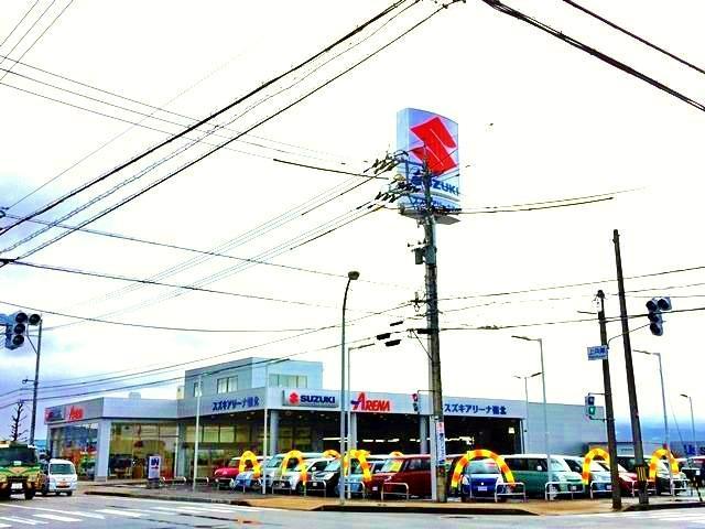 (株)スズキ自販北陸 スズキアリーナ嶺北の店舗画像