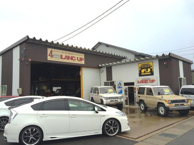 ランクアップは販売から・車検・鈑金・塗装まで全工程自社にて行います!!