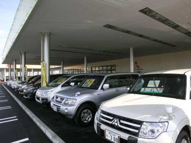 軽自動車、小型、RV系を100台展示中!実際に見て乗ってみてください!