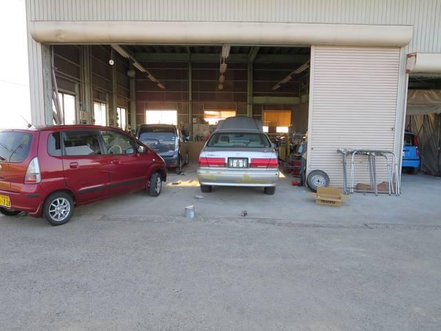 カーレックス ジャパンのアフターサービス 提携先板金工場完備!板金・塗装お任せください。