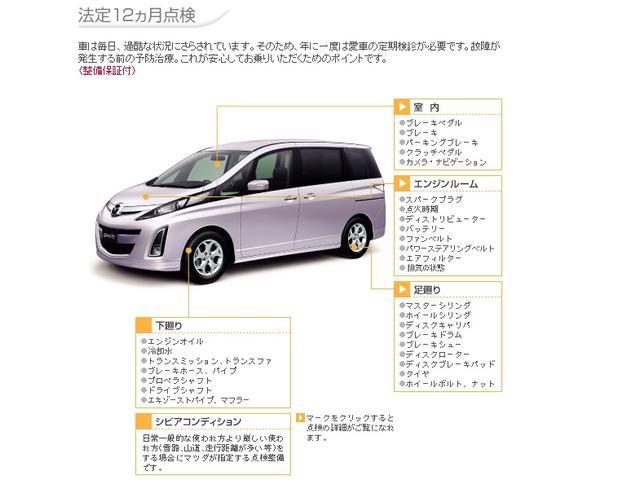 新潟マツダ自動車(株) 三条ユーカーランドのアフターサービス 法定12ヶ月点検