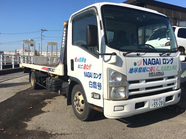 ナガイロングオート (株)長井自動車販売のアフターサービス ☆積載車も完備しております☆