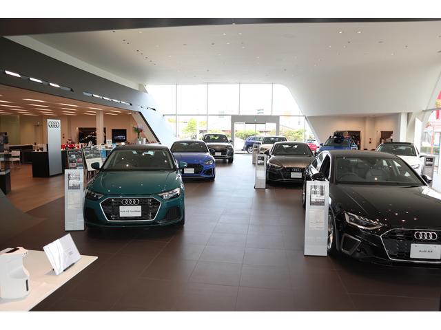 Audiショールームには多数のラインナップをご用意しております、是非、一度、ご来店下さい。
