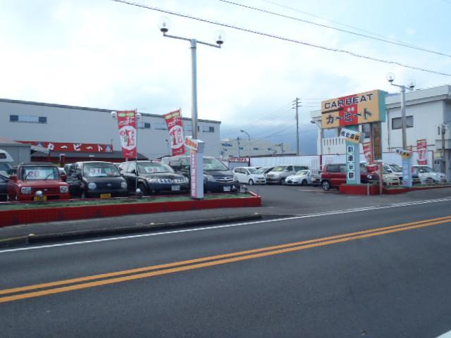 カービートへようこそ!軽四をはじめ普通車・ミニバン・1BOXまで常時展示しております!四国中央店