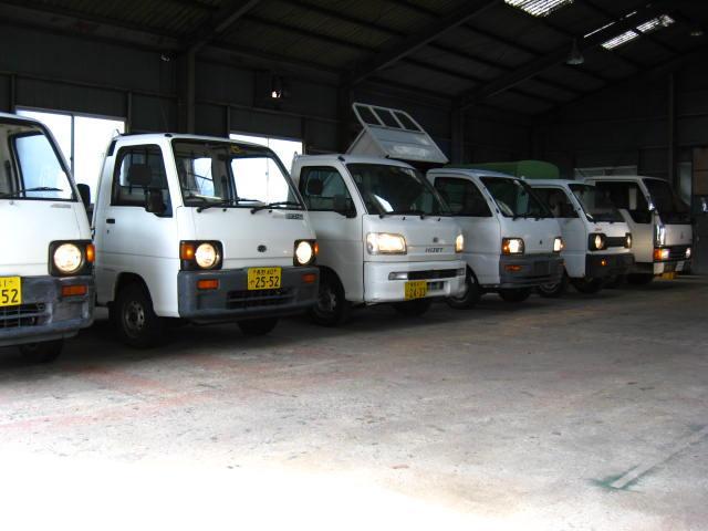 軽トラックもお買い求めいただきやすい価格にてご用意いたしております。