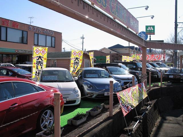 良質な中古パーツも駆使して、お客様がなるべく安くお車を維持できるように配慮して行うことができます。