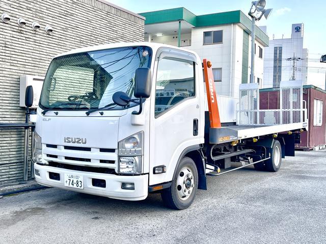 当社積載車で、急なお車のトラブルにも迅速に対応させて頂きます。