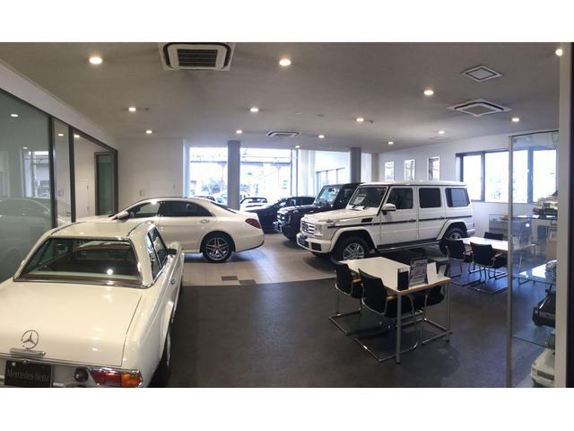 2015年12月にリニューアルオープンしたメルセデス・ベンツ サーティファイドカーセンターです。