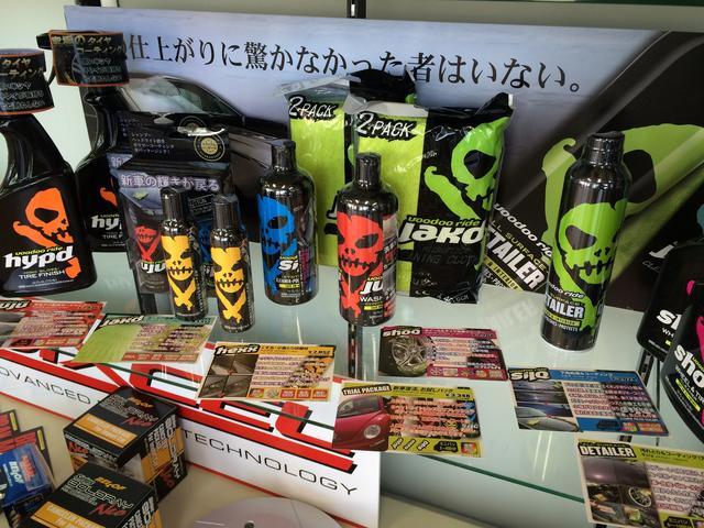 店内では様々なアクセサリーも販売しています。