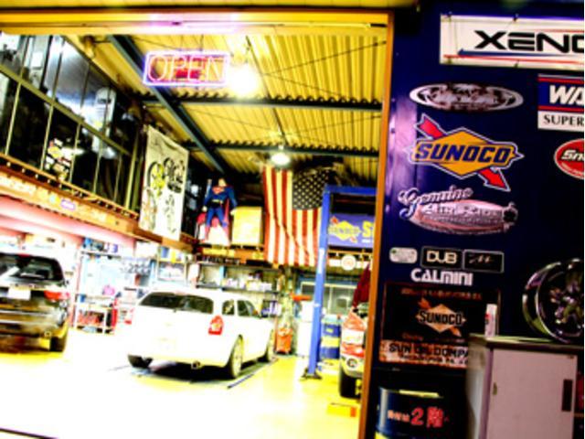設備の整ったアメ車専門工場、ガレージダイバンGDファクトリーがお客様のカーライフをサポート致します