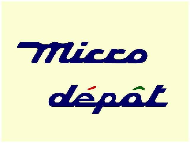 [東京都]micro depot マイクロ・デポ(株)
