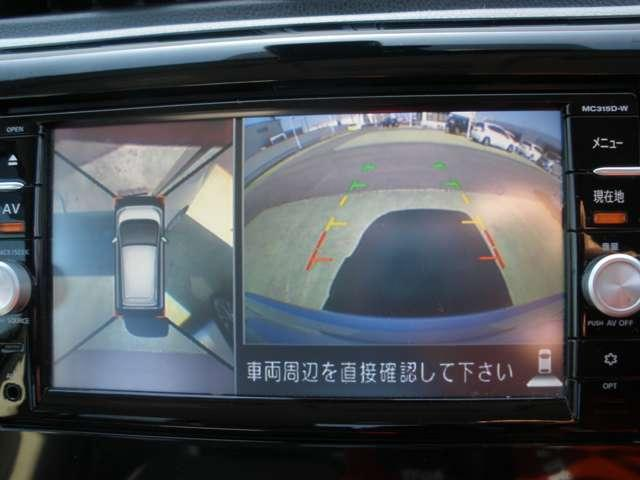 X 純正メモリーナビ・フルセグ・アラウンドビューモニター DVD再生・音楽録音・アイドリングストップ・エマージェンシーブレーキ(5枚目)
