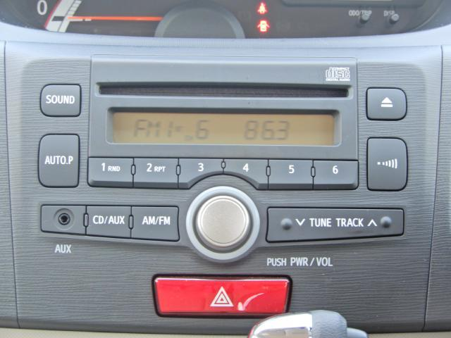 CDチューナーでナビが不要の人には十分な装備ですね