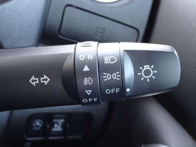 直感で操作できるシンプルなライトスイッチです。ふぐランプのON・OFFもここで出来ます。