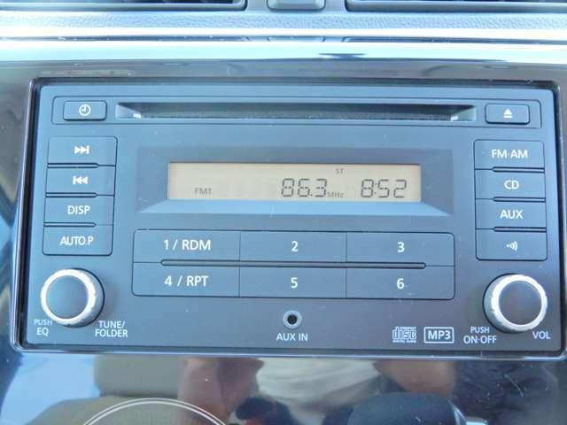 操作のしやすい純正CDチューナーです。