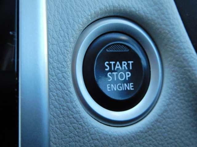 キーを取り出さなくてもエンジン始動ができるプッシュエンジンスターター
