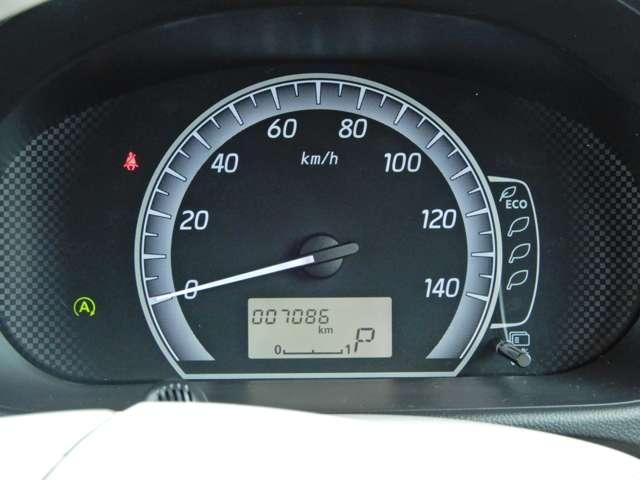 シンプルで見やすいメーターで安全運転をサポート
