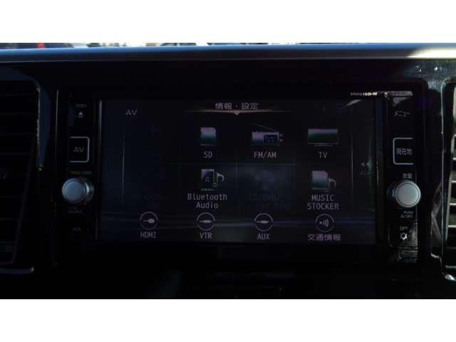 ハイウェイスター Xターボ 純正メモリーナビ アラウンドビューモニター エマージェンシーブレーキ 両側パワースライドD オートマチックハイビーム インテリジェントキーシステム オートエアコン フォグランプ ETC付 ターボ車(6枚目)